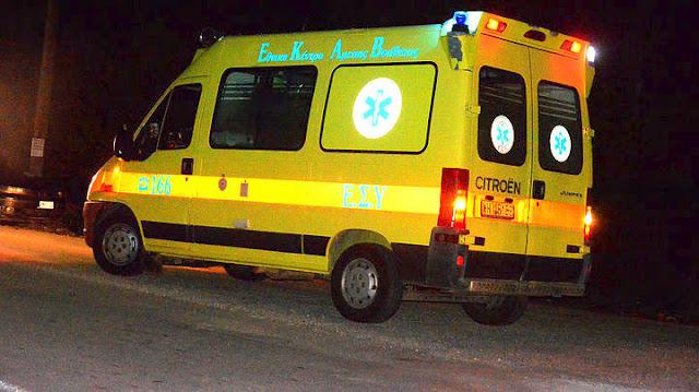 Τροχαίο ατύχημα με μηχανή στο Κρανίδι Αργολίδας