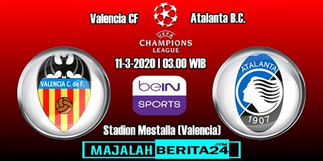 Prediksi Valencia vs Atalanta