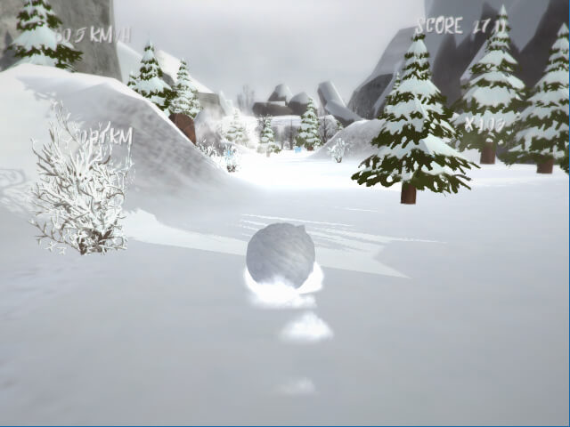لعبة Snow Crush
