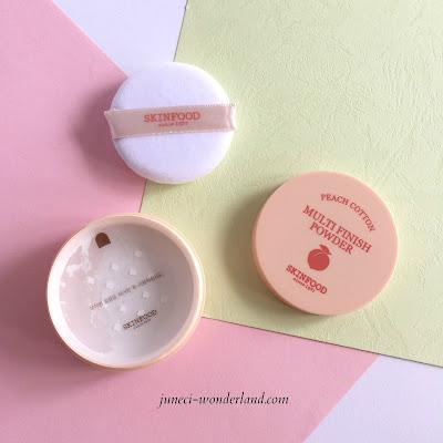 SkinFood Peach Cotton Multi Finish Powder review