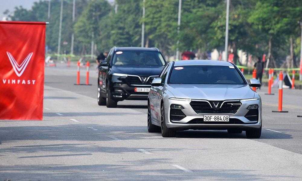 Hai mẫu xe VinFast Lux A2.0 và Lux SA2.0
