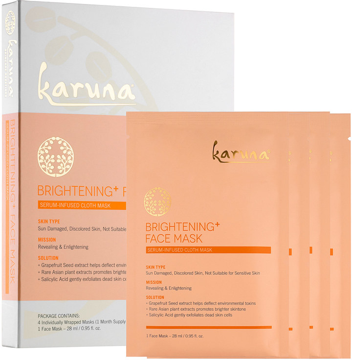 The Karuna Brightening face mask