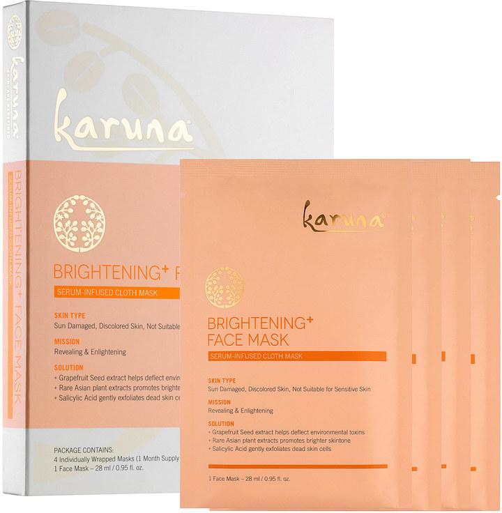 The Karuna Brightening face mask