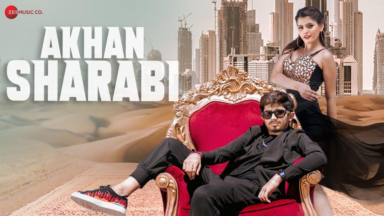 Akhan Sharabi Lyrics in Hindi