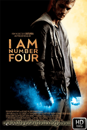 Soy El Numero Cuatro [1080p] [Latino-Ingles] [MEGA]