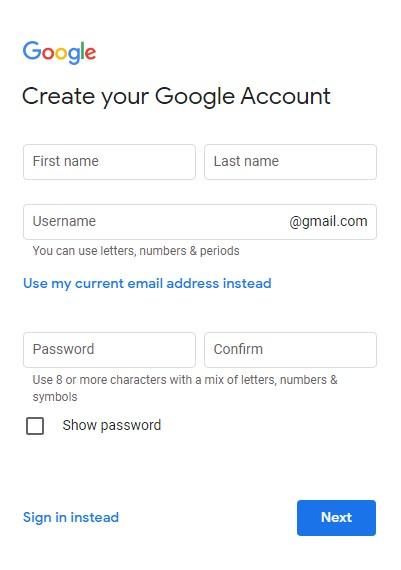 How to Create Google Account | Google Playstore id kasiy bnaye