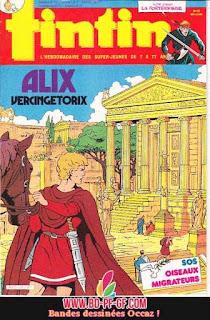 Fascicule Tintin, numéro 22, année 1985