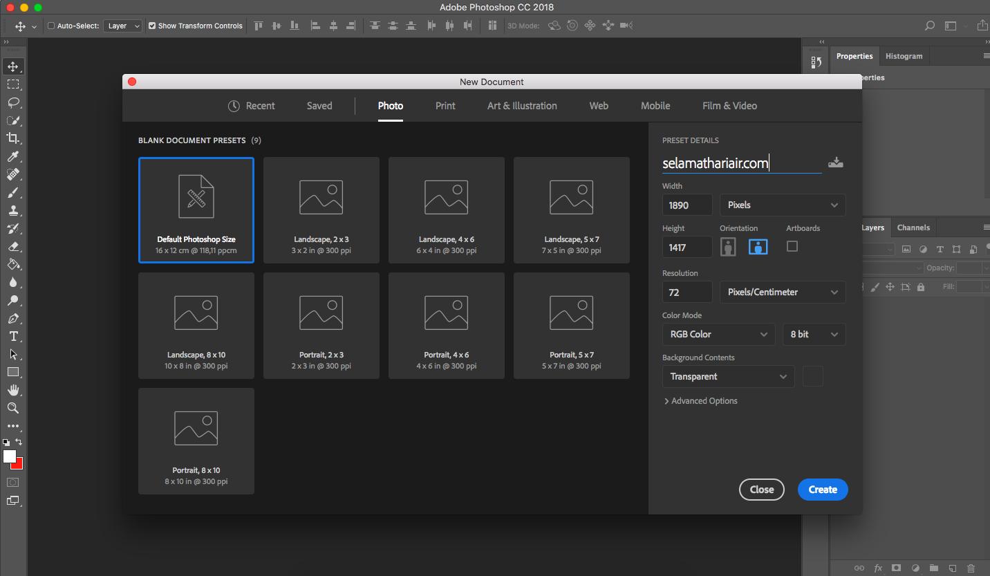 cara bikin png dengan background transparant