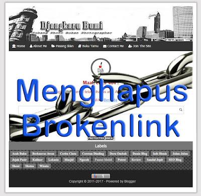 SEO Menghapus Broken Link
