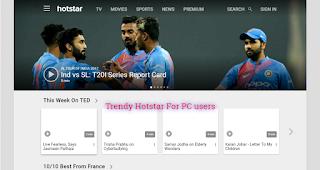 hotstar.com sports