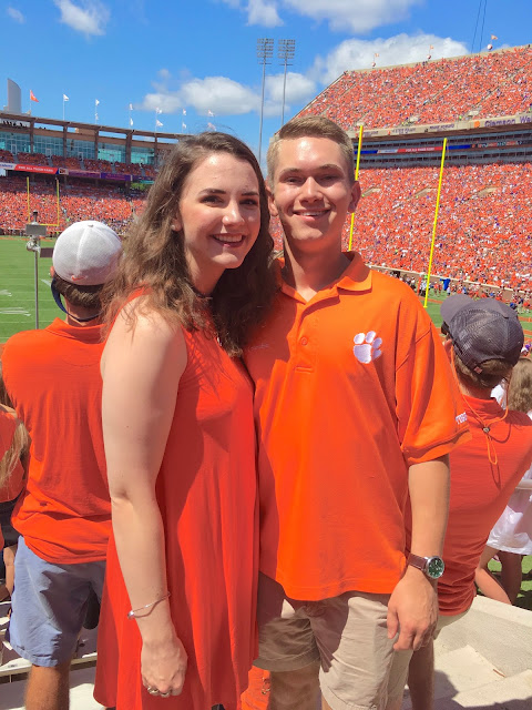 Clemson Football Gameday Outfit