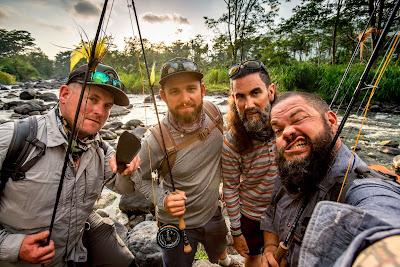 """Quarteto de """"Pesca ao Extremo"""" - Divulgação"""