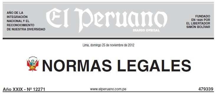 LEY Nº 29944 - Ley de Reforma Magisterial - LRM (.PDF) MINEDU - www.minedu.gob.pe