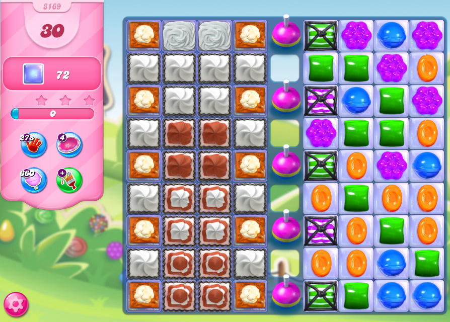Candy Crush Saga level 3169