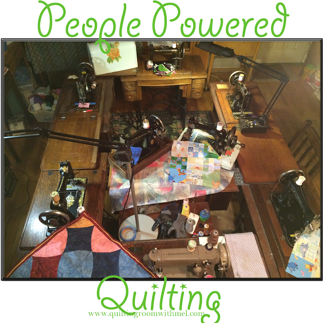 people powered sewing