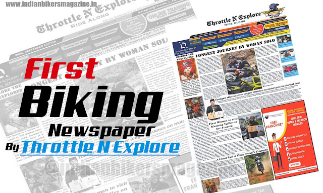 First Biking Newspaper In India By Throttle N Explore