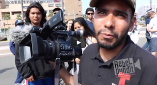 """Telemundo Caught Staging Shot At Anti-Trump Protest -""""Why Are You Directing Them?"""" -""""F-- You, Kan, I Need To Work."""""""