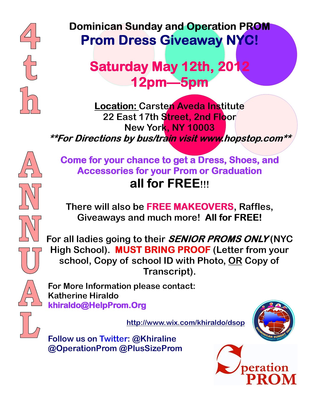 prom giveaway 4th annual prom dress giveaway nyc free dresses for prom 6257