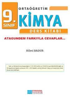 9. Sınıf Kimya Ders Kitabı Cevapları EVRENSEL İLETİŞİM Yayınları