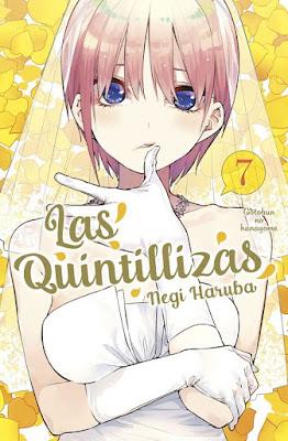 Reseña de Las Quintillizas (Go-Toubun no Hanayome) vols. 7 y 8, de Negi Haruba - Norma Editorial.