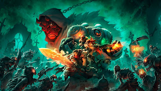 Battle Chasers Nightwar Characters Wallpaper