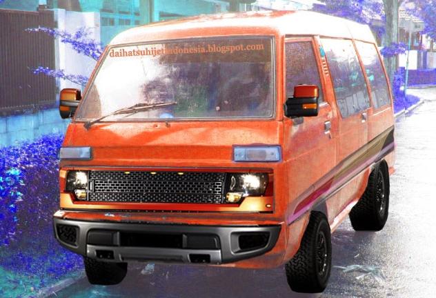 Daihatsu Hijet: Daihatsu Hijet 1000 Modifikasi