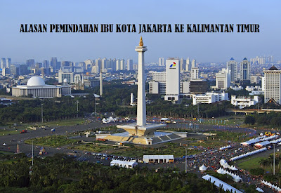 Alasan Pemindahan Ibu Kota Indonesia