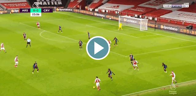 Arsenal vs Crystal Palace Live Score