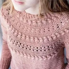 Blusa Armonía de Trenzas a Crochet