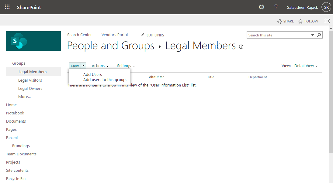 how to add members to a sharepoint online group