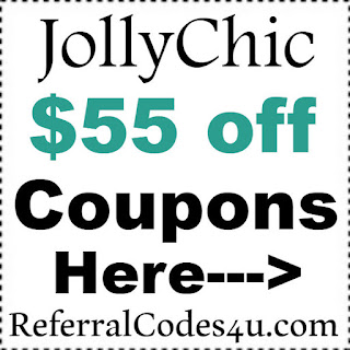 JollyChic Voucher Code 2017, JollyChic.com Coupon January, February, March, April