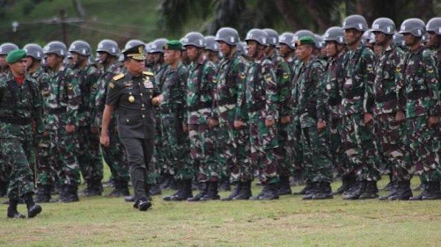 Daftar Lengkap Gaji TNI , Pangkat Terendah Sampai Tertinggi