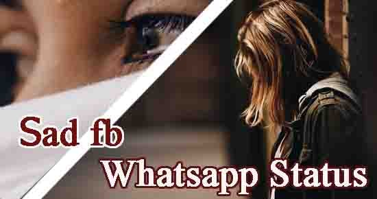 sad fb whatsapp status in hindi