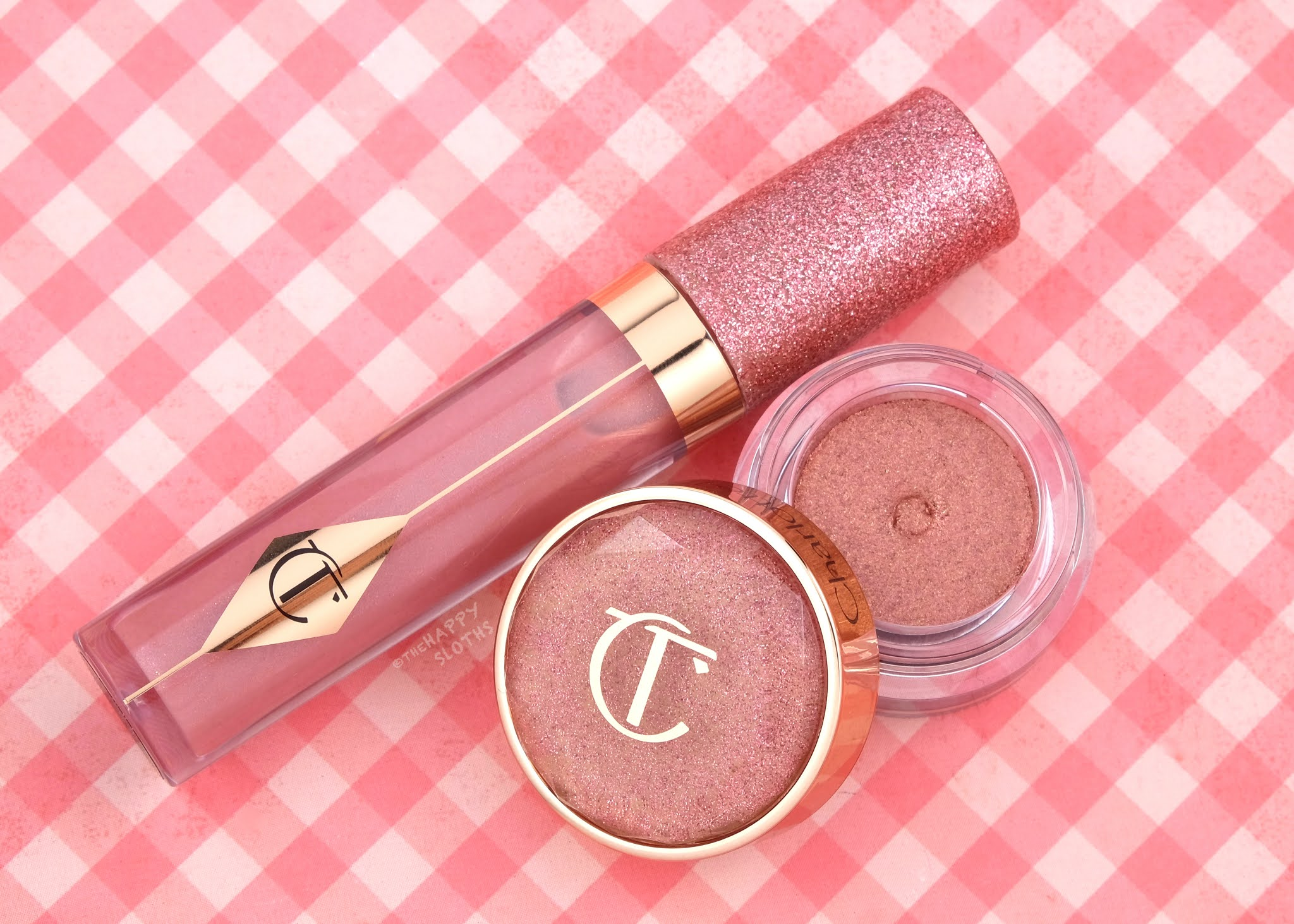 Charlotte Tilbury | Pillow Talk Charlotte's Jewel Lips & Walk of No Shame Charlotte's Jewel Pots: Review and Swatches