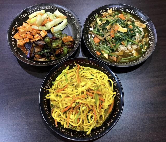 信義健康蔬食~蘆洲素食熱炒、便當、近捷運徐匯中學站