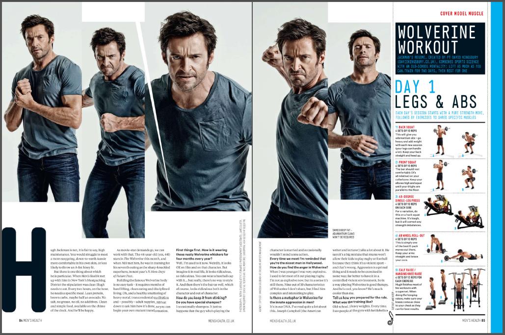 Laxman Pawar: Complete Wolverine Workout