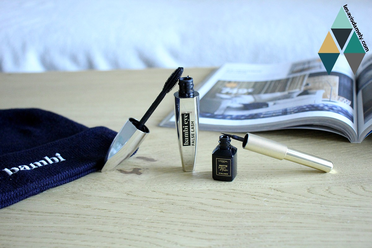 avis et test mascara et eye liner bambi eye l'oréal paris disney