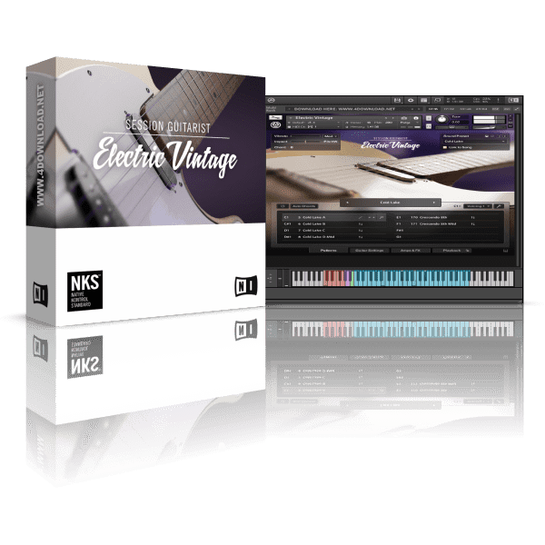 Native Instruments Session Guitarist Electric Vintage KONTAKT Library