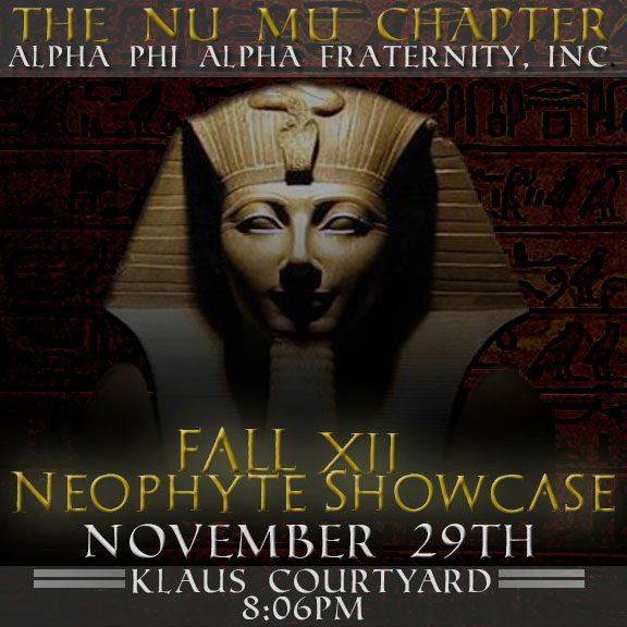 Alpha Phi Alpha Fraternity, Inc.: November 2012
