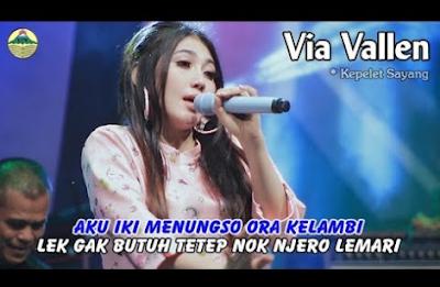 Lagu Via Vallen Sayang 27 (Kepelet Sayang) Download Mp3 Terbaru