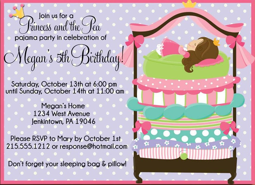 Sample Of Invitation Cards For Birthday Party – Invitation Card for Birthday
