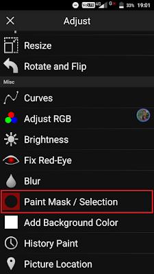 Cara Merubah Warna Rambut Dengan Picsay Pro