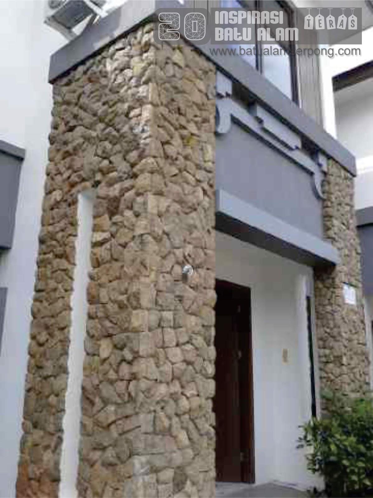 85 Gambar Rumah Kombinasi Batu Alam HD