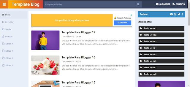 Template Para Blogger