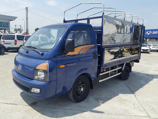 Giá lăn bánh Hyundai H150 thùng bạt