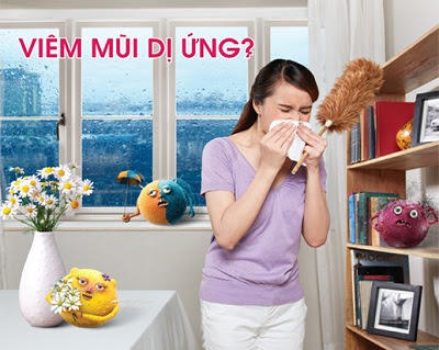Viêm mũi dị ứng gây khó chịu cho người bệnh