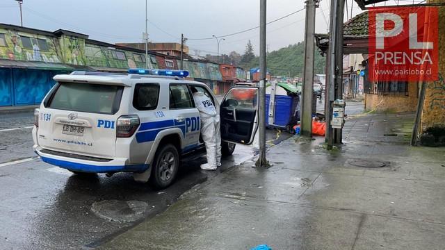 Hombre es encontrado sin vida en calle de Puerto Montt