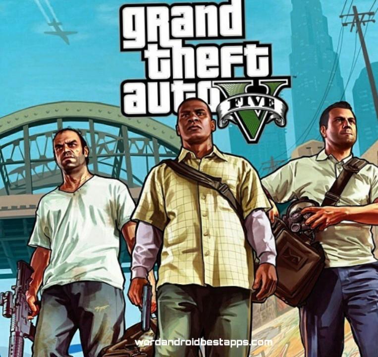 GTA 5| تحميل لعبة GRAND THEFT AUTO V  للاندرويد النسخة الاخيرة V
