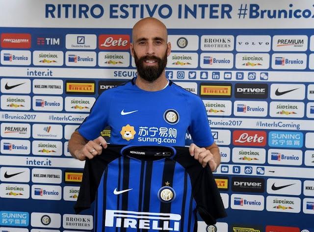 Borja Valero gelandang tengah Inter