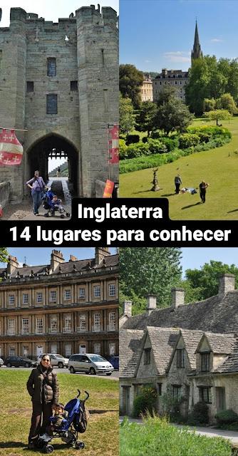 14 lugares para conhecer na Inglaterra